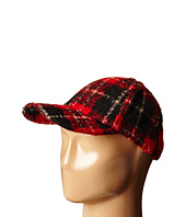 BCBGeneration - Brushed Plaid Baseball Cap