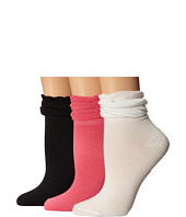 Betsey Johnson - Ruffle Shortie Sock 3-Pack