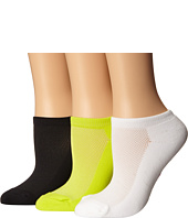 Betsey Johnson - Half Cushion Microfiber Mesh Upper Low Cut Sock 3-Pack