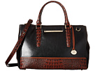 Brahmin Small Lincoln Satchel (Black 2)