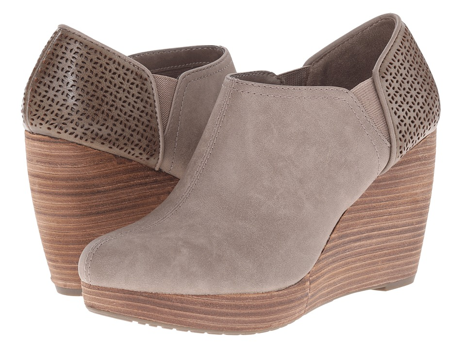 Dr. Scholls Harlow Taupe Womens Wedge Shoes