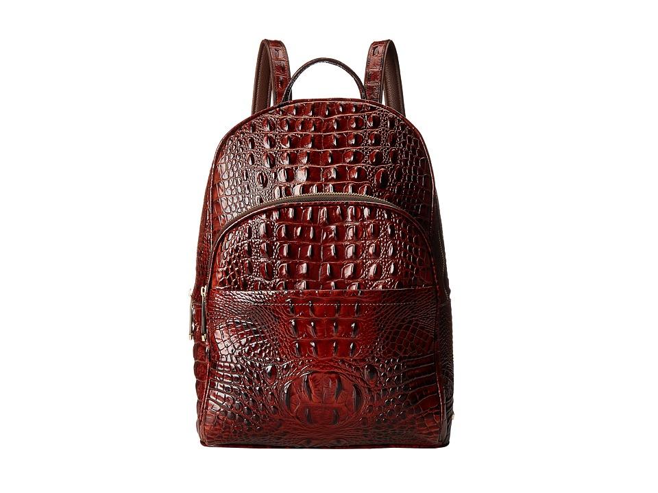 Brahmin Dartmouth Backpack Pecan Backpack Bags