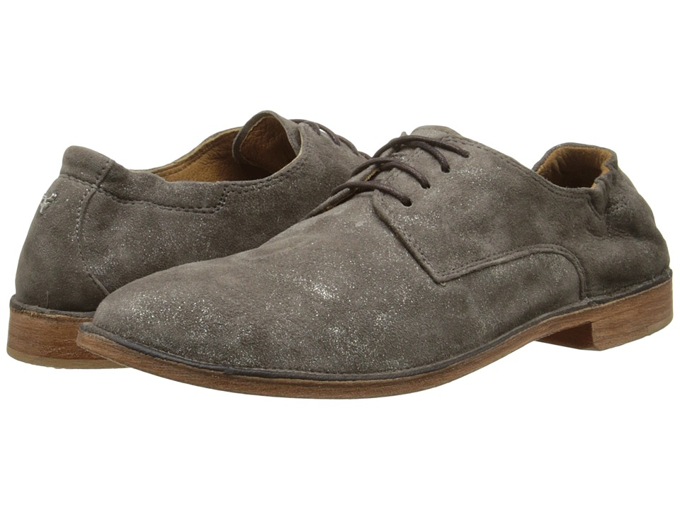 Trask Ana Pewter Italian Suede Womens Shoes