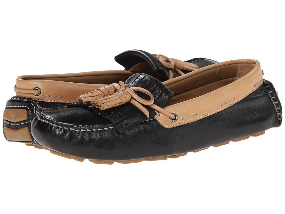 Trask Aimee Black Sheepskin Womens Shoes