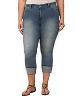 NYDJ Plus Size - Plus Size Lorena Skinny Boyfriend Capri in Eagle Creek