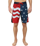 O'Neill - Superfreak Scallop Print Superfreak Series Boardshorts
