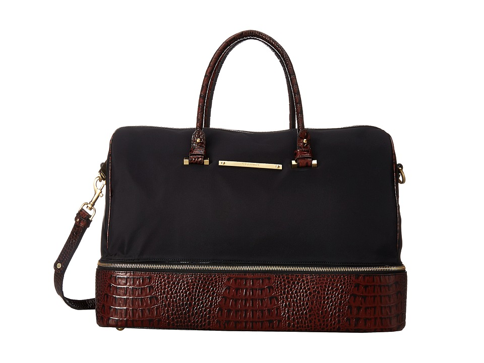 Brahmin Sylvie Black Handbags