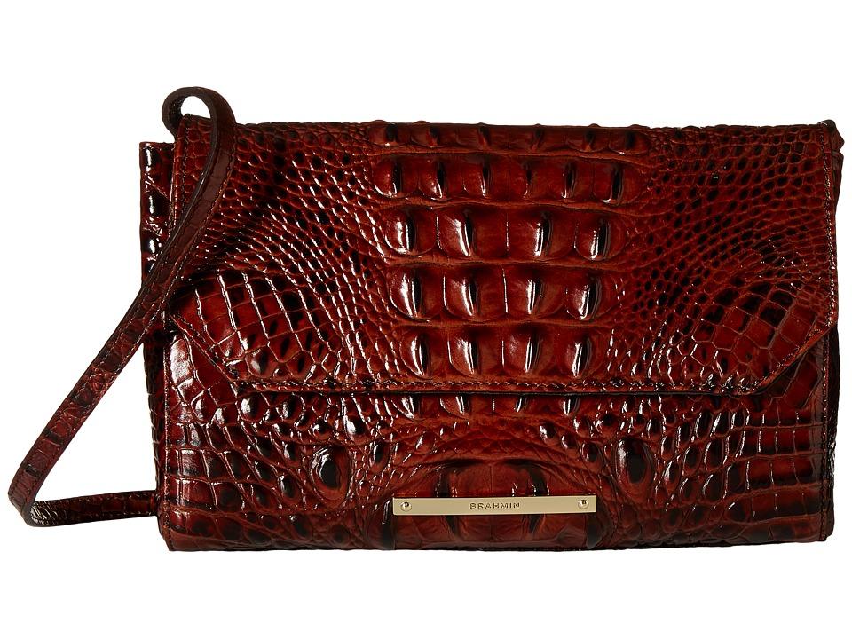 Brahmin Carina Pecan Handbags