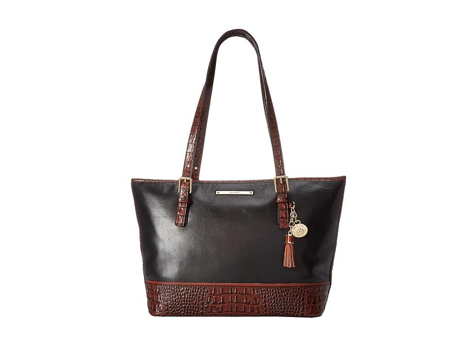 Brahmin Medium Asher Black Tote Handbags