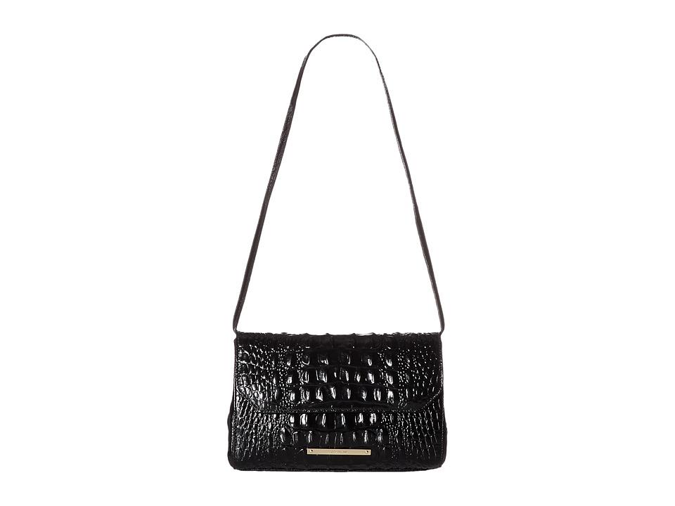 Brahmin Carina Black Handbags