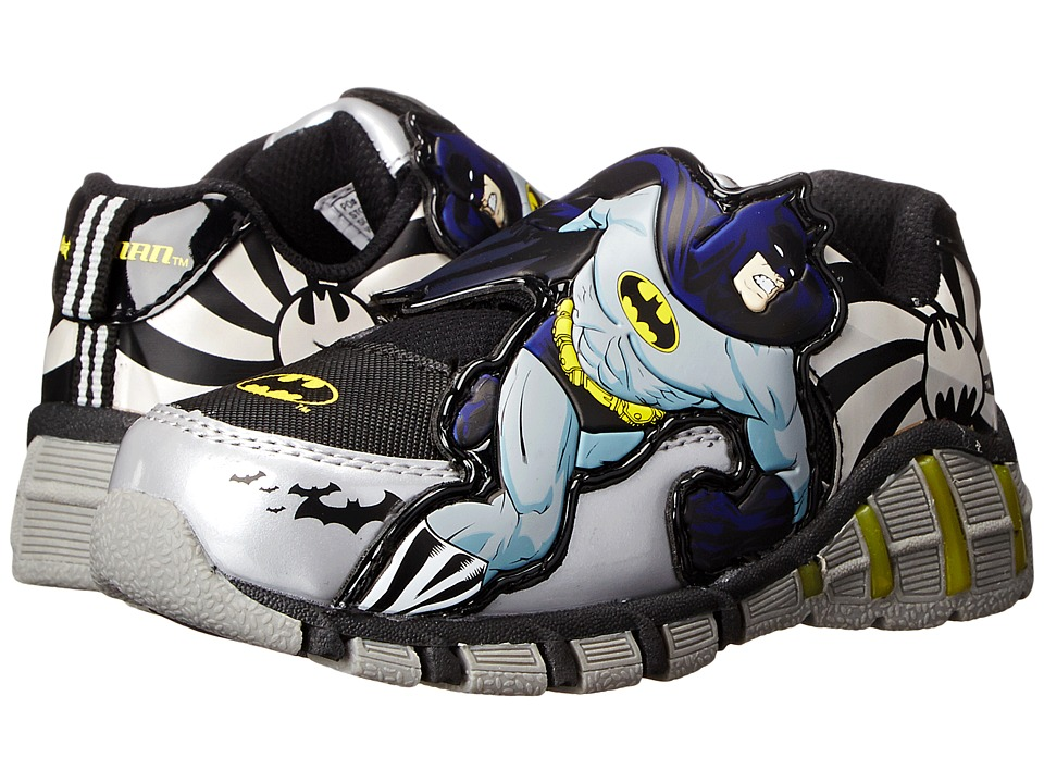 Favorite Characters Batman BMF307 Sneaker Toddler/Little Kid Gray Boys Shoes
