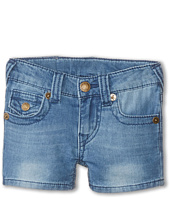 True Religion Kids - Joey Indigo Shorts (Toddler)