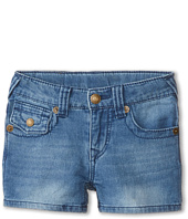 True Religion Kids - Joey Indigo Shorts (Little Kids)