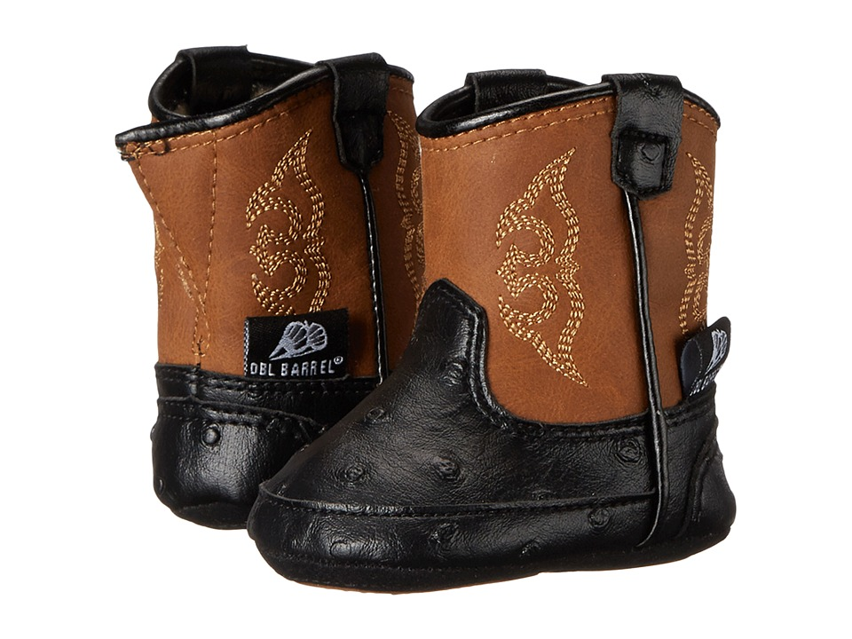 Blazin Roxx Baby Bucker Camden (Infant/Toddler) (Black) Cowboy Boots