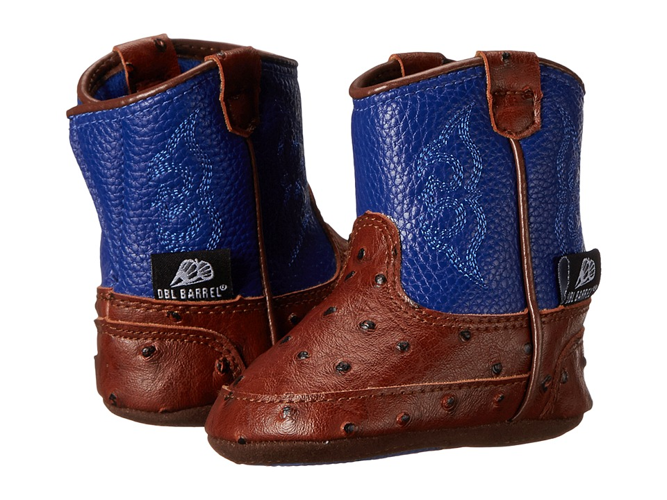 Blazin Roxx Baby Bucker Weston (Infant/Toddler) (Blue) Cowboy Boots