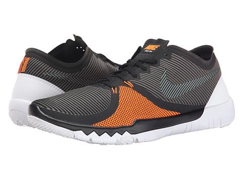 nike free run 3.0 v4 orange and grey