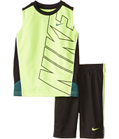 Nike Kids - Block Poly Sleeves Shorts Set (Little Kids)