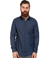 Mavi Jeans - Velvet Collar Denim Shirt