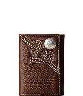 M&F Western - Embossed Tab Tri-Fold Wallet
