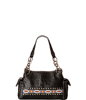 M&F Western - Southwest Beaded Ribbon Satchel