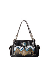 M&F Western - Sequin Chevron Shoulder Bag Satchel