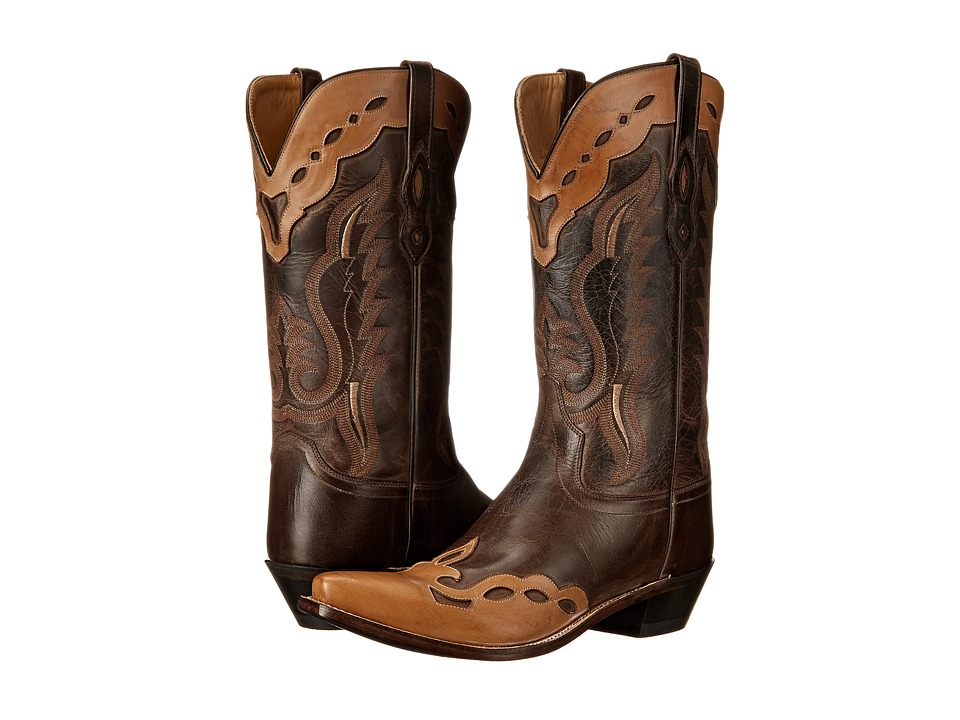 Old West Boots MF1535 Brown Canyon/Bazooka Cowboy Boots