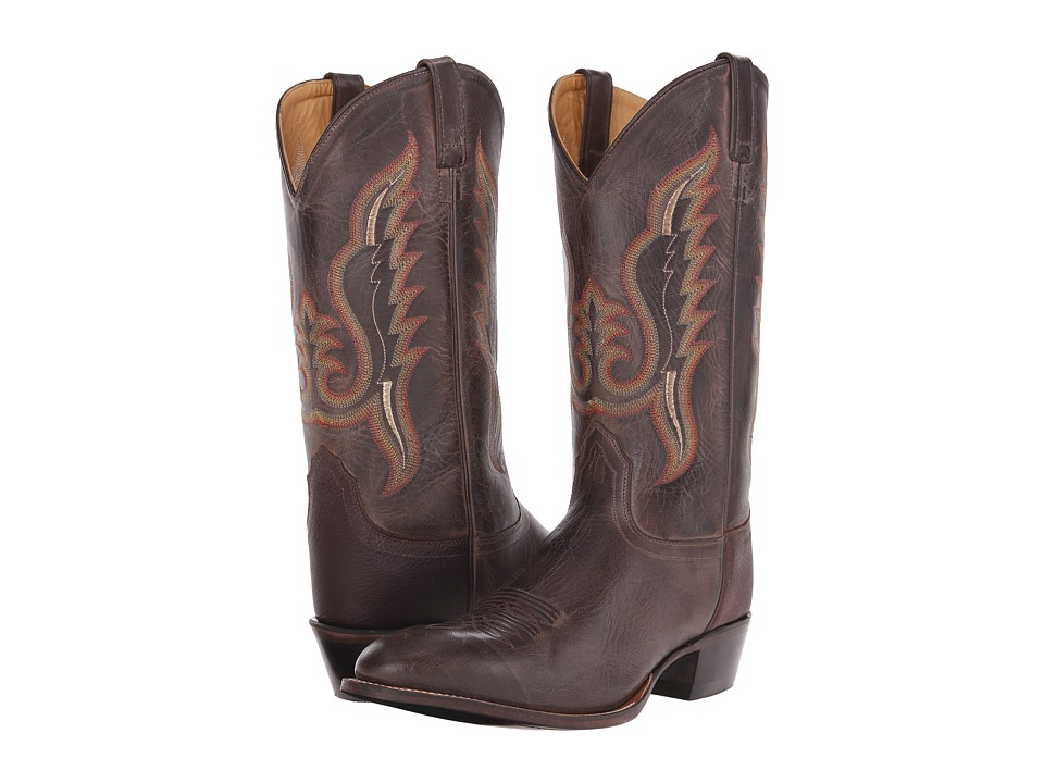 Old West Boots 5235 Brown Canyon/Thunder Oiled Rust Cowboy Boots