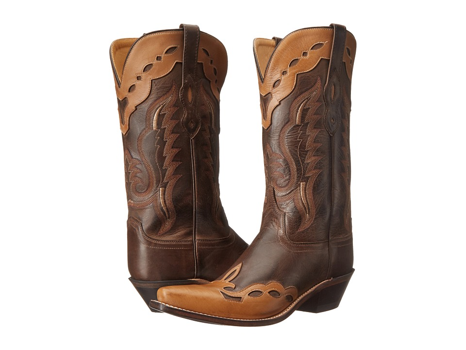 Old West Boots - LF1538 (Brown Canyon/Bazooka) Cowboy Boots