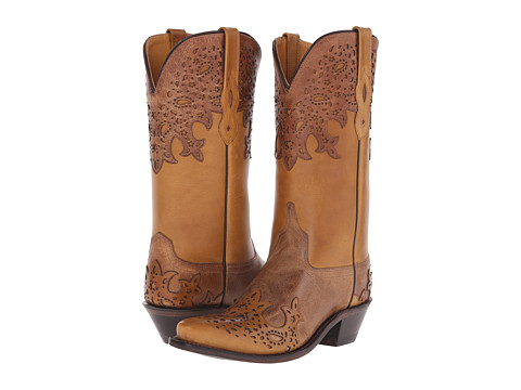 Old West Boots LF1540 - Tan Fry/Light Tan