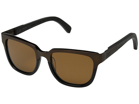 Shwood Prescott Titanium - Polarized - Antique Bronze Titanium/Black/Brown Polarized