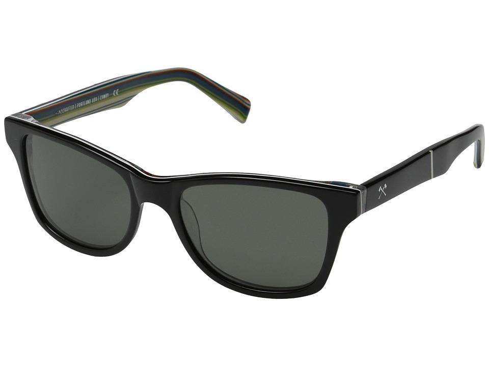 Shwood Canby Pendleton Collection Turquoise Sarape/Grey Polarized Fashion Sunglasses