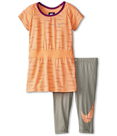 Nike Kids - Varigated Dot Aop Tunic & Capris Set (Little Kids)