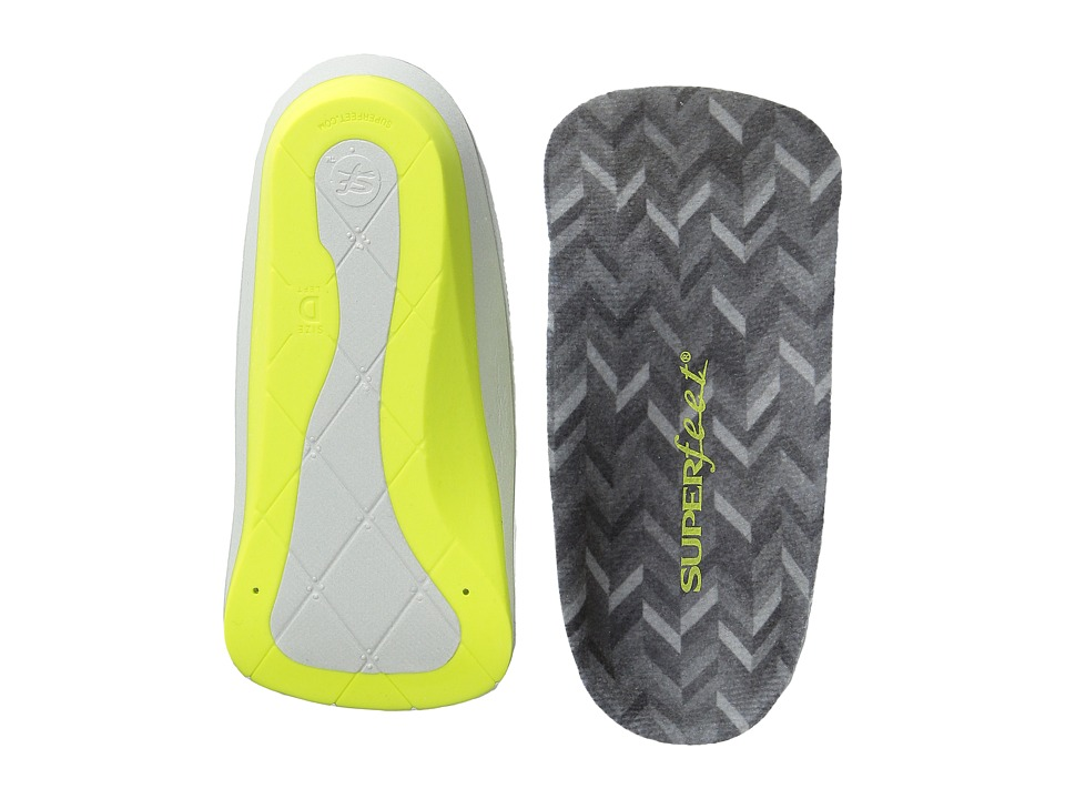 Superfeet me Designer Comfort Insoles Charcoal Mens Insoles Accessories Shoes