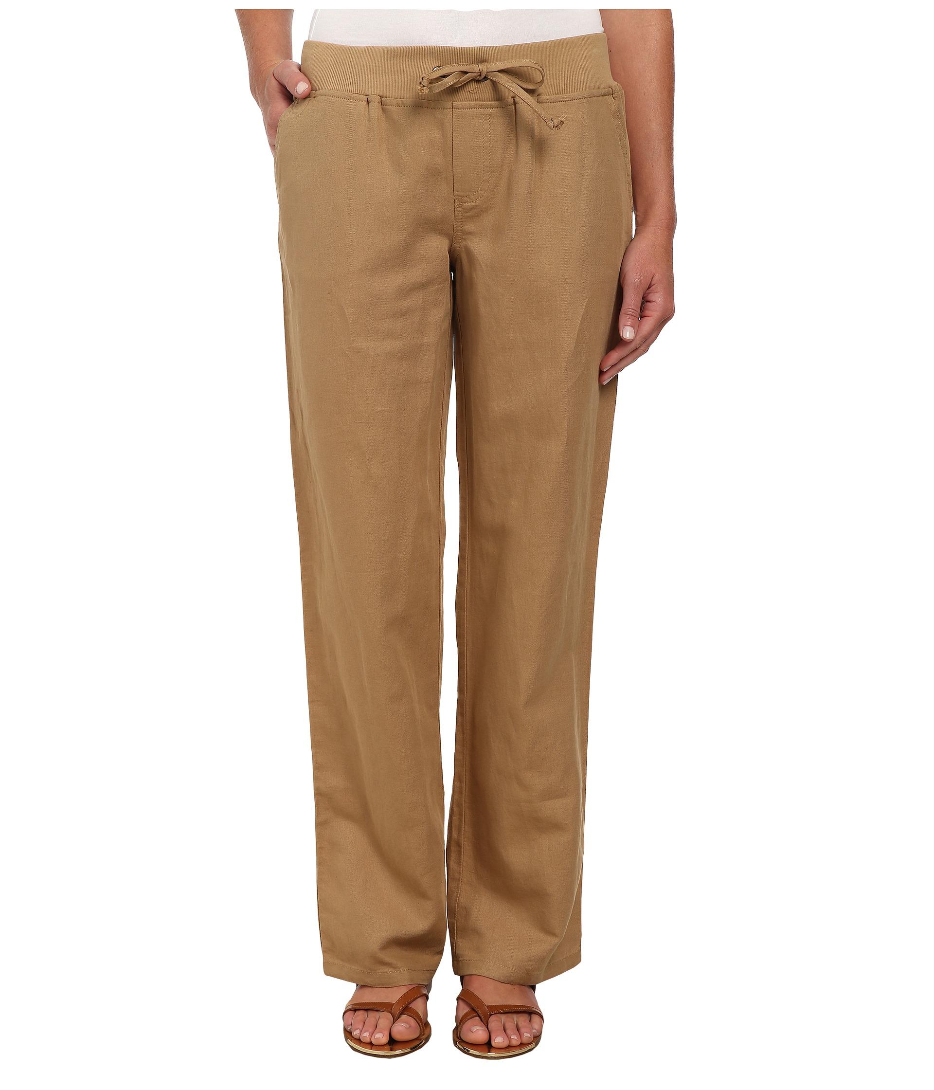 Mens Grey Drawstring Linen Pants | Images Guru
