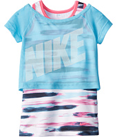 Nike Kids - Dri-Fit Sports Essentials 2-in-1 Short Sleeve Top (Little Kids)