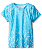 Nike Kids - Lightweight Dri Fit Aop GFX Short Sleeve Top (Little Kids)