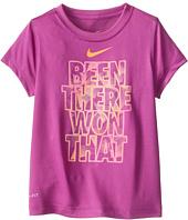 Nike Kids - Lightweight Dri-Fit GFX Short Sleeve Top Been There Won That (Little Kids)