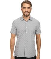 Perry Ellis - Short Sleeve Dobby Print Shirt