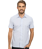 Perry Ellis - Short Sleeve Dobby Print Shirt
