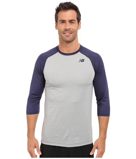 New Balance 3/4 Baseball Raglan - Team Navy