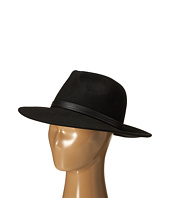 BCBGMAXAZRIA - PU Banded Panama Hat