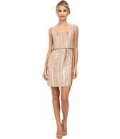 Aidan Mattox - Beaded Blouson Tank Dress