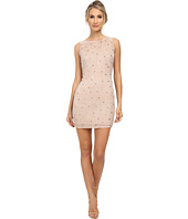 Aidan Mattox - Sleeveless Beaded Sheath Cocktail Dress