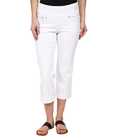 Jag Jeans Petite - Petite Caley Crop in White