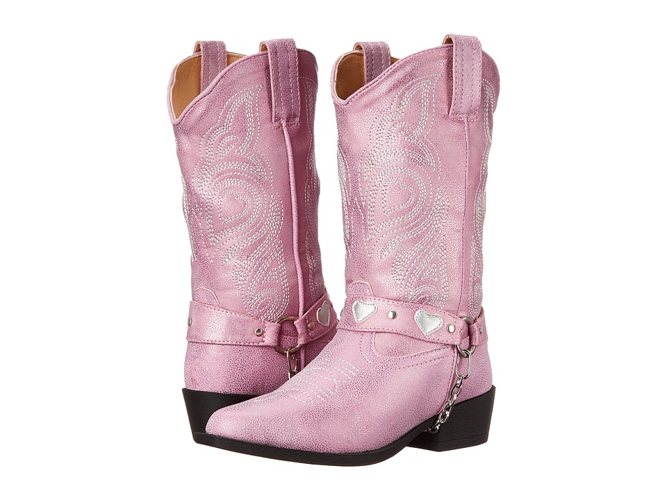 Roper Kids Dale Toddler/Little Kid Pink Cowboy Boots