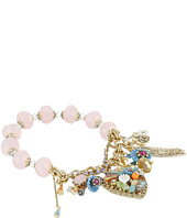 Betsey Johnson - Weave and Sew Multi Woven Half Stretch Bracelet