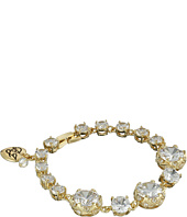 Betsey Johnson - All That Glitters Cubic Zirconia Gold Bracelet