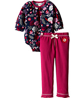 Hatley Kids - One-Piece & Ruffle Leggings Set - Field Flowers (Infant)