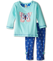 Hatley Kids - Long Sleeve Tee & Leggings Set - Icy Butterflies (Infant)