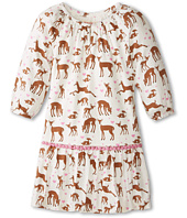 Hatley Kids - Pom Pom Dress - Soft Deers (Toddler/Little Kids/Big Kids)